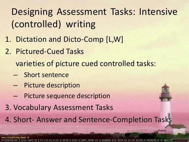 Pre-Writing as Assessment and Peer and Self Evaluation