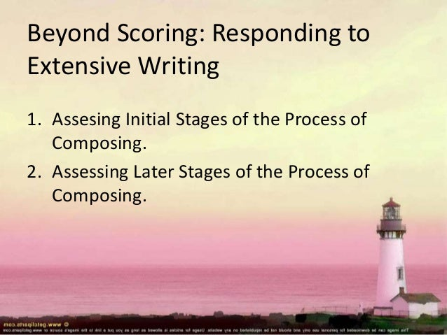 assessing writing On the surface, assessing writing ability seems pretty straightforward just ask people to write something and then give what they write a score in fact.