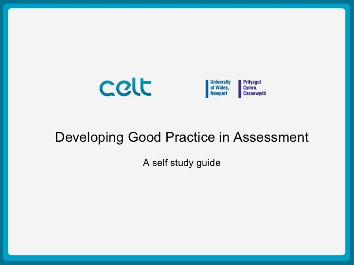 Presentation Title in AssessmentDeveloping Good Practice                         Example          Author: Simon Haslett   ...