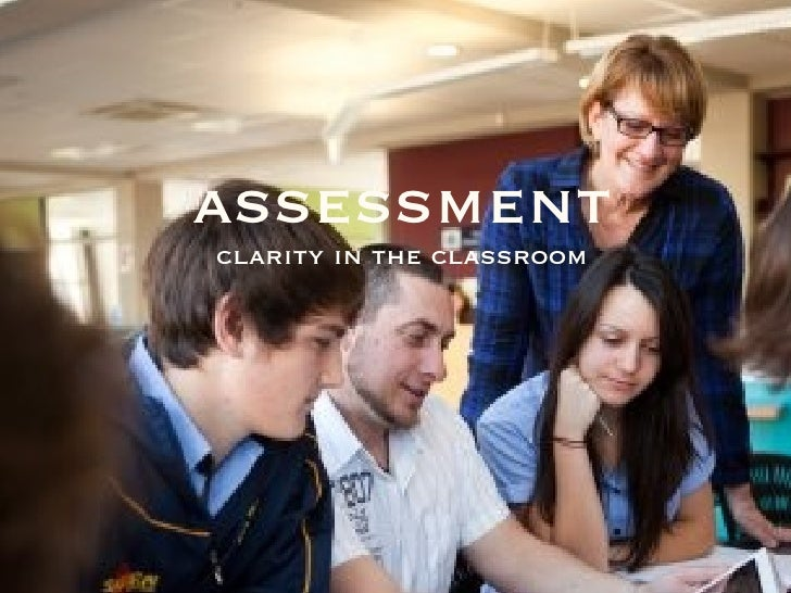 assessmentclarity in the classroom