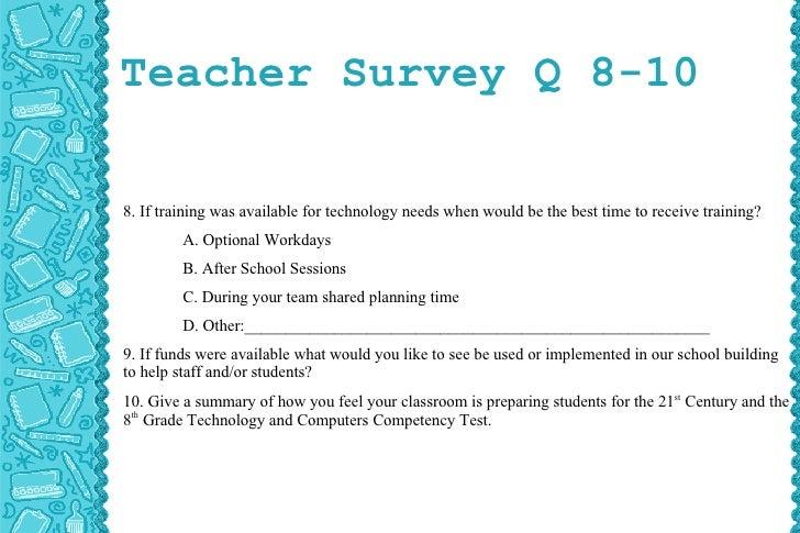 needs assessment survey questions