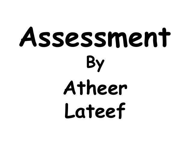 AssessmentByAtheerLateef