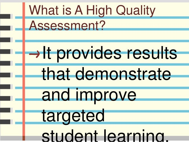 Assessment Slide 2
