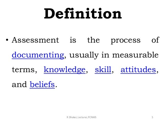 Assessment Ppt An assessment is a consideration of someone or something and a judgment about them. assessment ppt