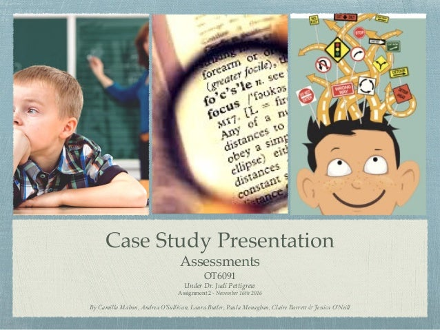 case study of adhd student Results from the largest treatment study of adhd consistent with what has been found in prior studies, by the end of the study as was the case in this study.