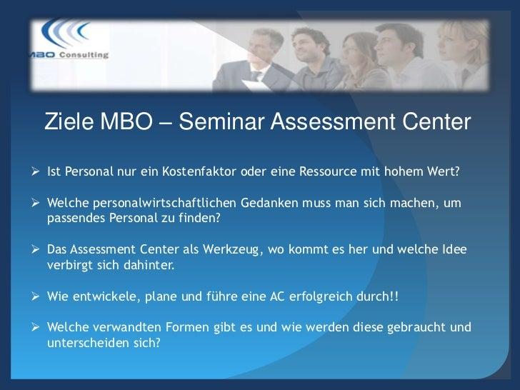 Ziele Assessment Center