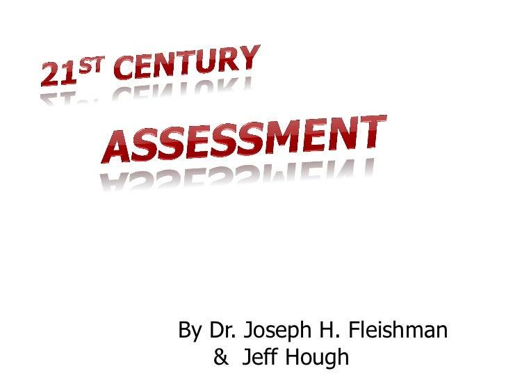 By Dr. Joseph H. Fleishman   & Jeff Hough