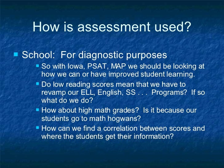 outline and assess the use of Several methods should be used to assess student learning outcomes see the assessment methods table for an overview of some commonly used direct and indirect methods of assessment why is it important to use multiple methods relying on only one method to provide information about the program will only reflect.