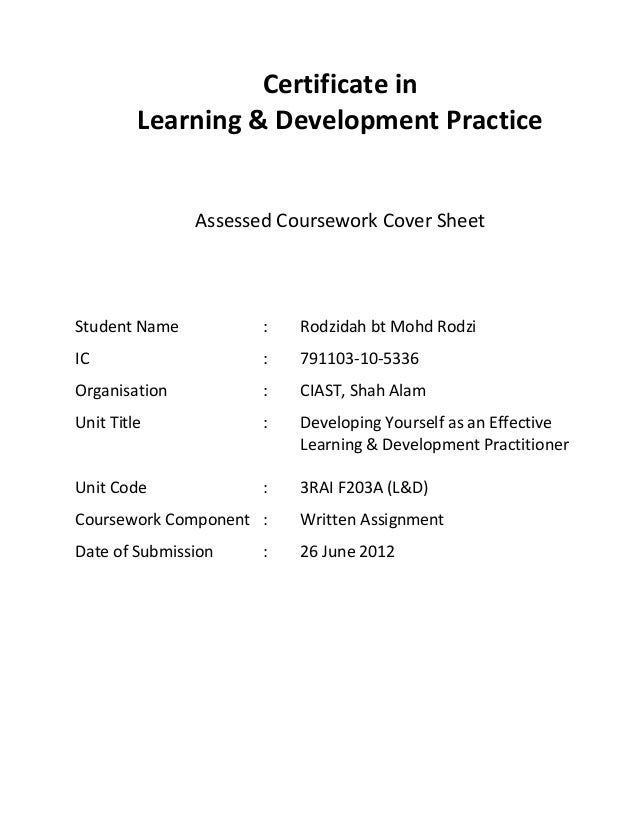 leadership and management cipd uk assignment sheet