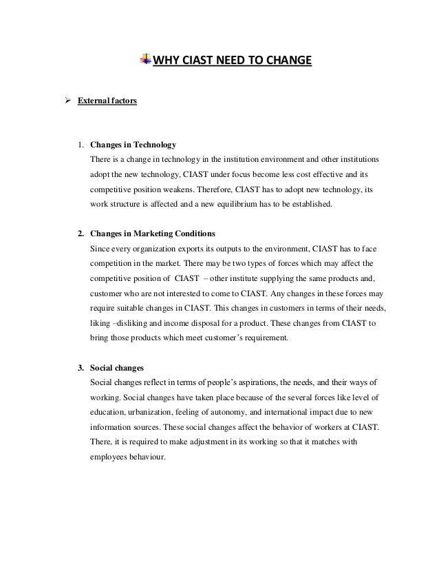 leadership and change management assignment pdf