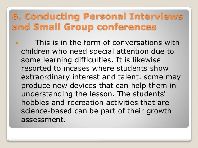 Assessment and Evaluation in Science – Small Group Evaluation Form
