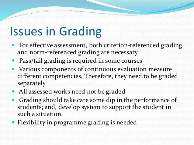 pass or fail grading system essay Summative assessment 3 strategies to consider when grading essays 4 ideas for conducting given concept and can typically be assigned a pass/fail grade.