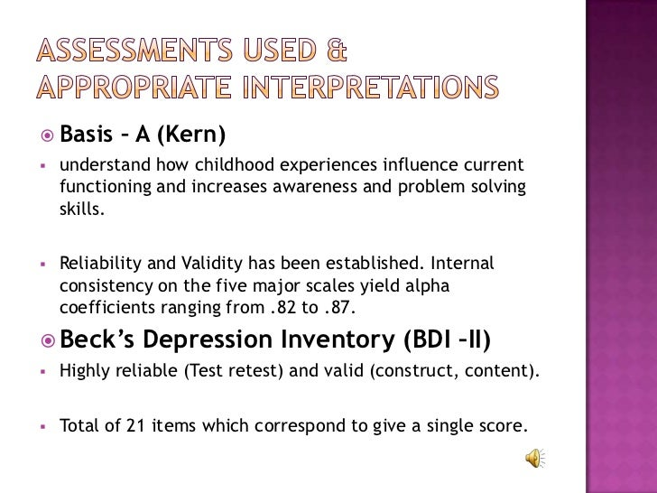 parent child relationship inventory reliability and validity in research