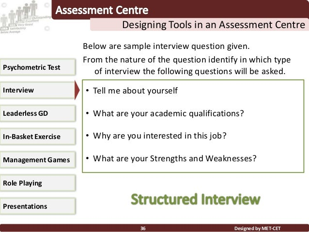 Assessment centers 1