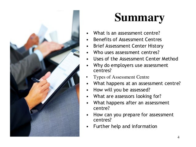 Assessment Development Centres