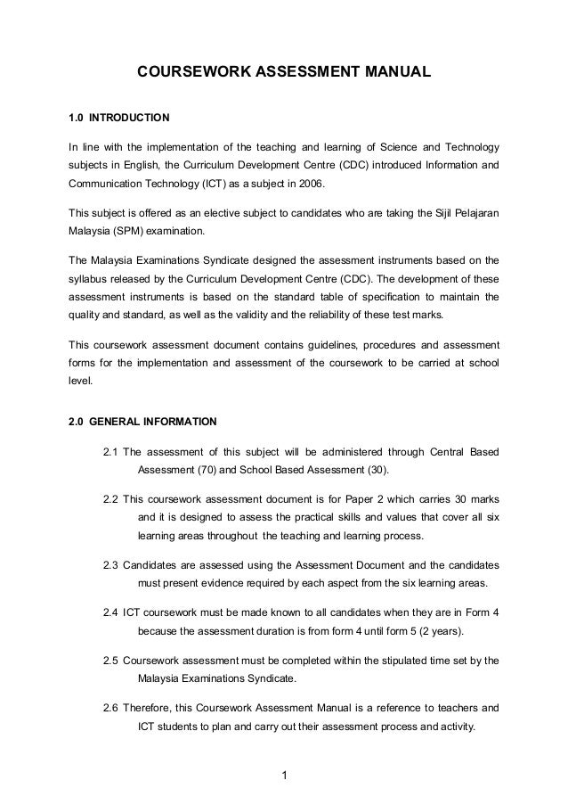 ict coursework form 5 Ict notes & summary form 5 : ict form 4 the latest development in networks and communications se571 course project phase1 donaldsonr.