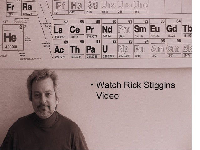 • Watch Rick Stiggins Video