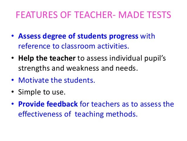 TOOLS AND TECHNIQUES FOR CLASSROOM ASSESSMENT