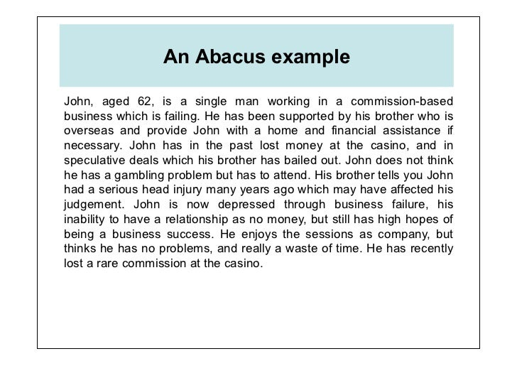 Advanced Abacus Theory and Practice