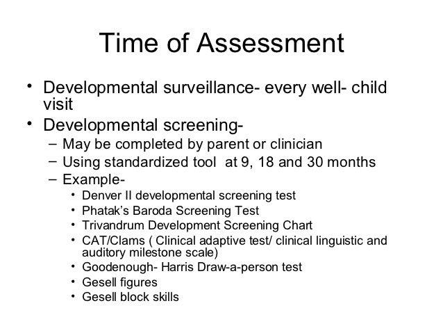denver developmental screening test essay Unpublished masters essay, university of florida, 1971  & dodds, jb denver developmental screening test denver: university of colorado medical center, 1966.
