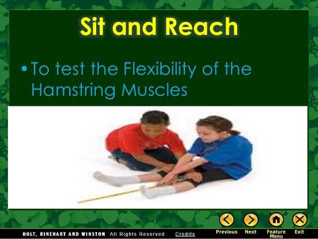 Assessment of health related components of fitness