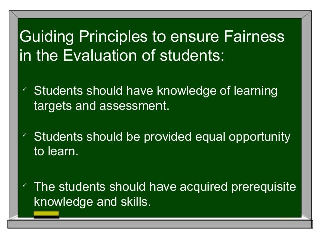 guiding principle for assessment of student learning essay In the follow-up assessment 15 days later, students who learned through role in guiding learning in constructivism principle in multimedia learning.