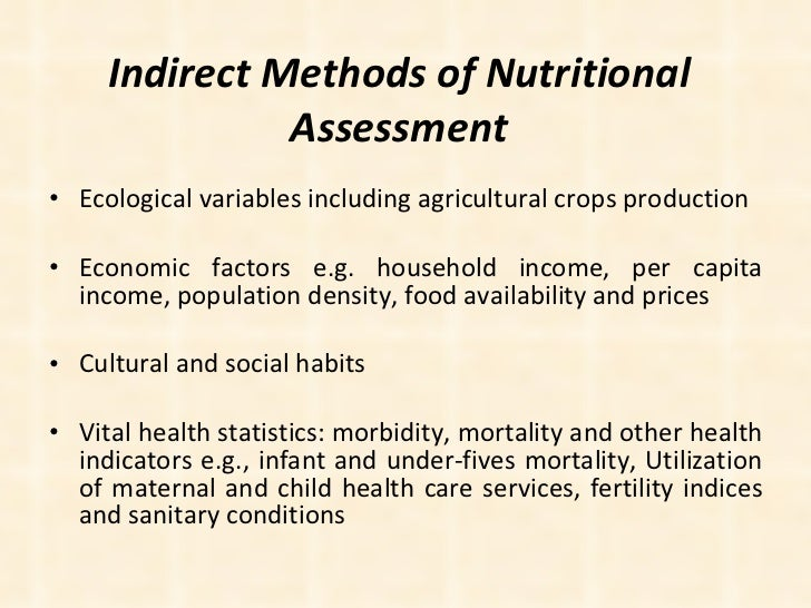thesis nutritional status Maternal nutritional status and its effect on the newborn p s  venkatachalam, md' the dietary, clinical and biochemical investigations  reported in this.