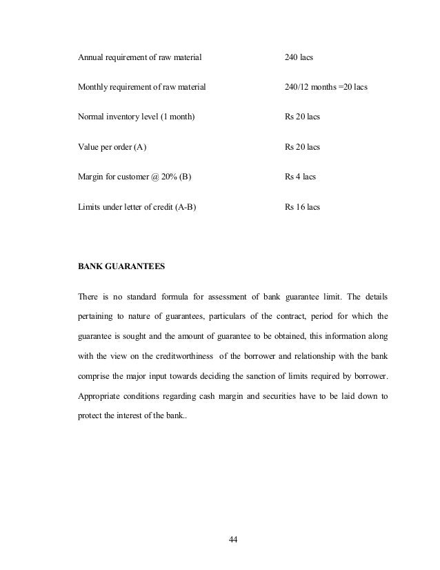 Annual requirement of raw material 240 lacs Monthly requirement of raw material 240/12 months =20 lacs Normal inventory le...