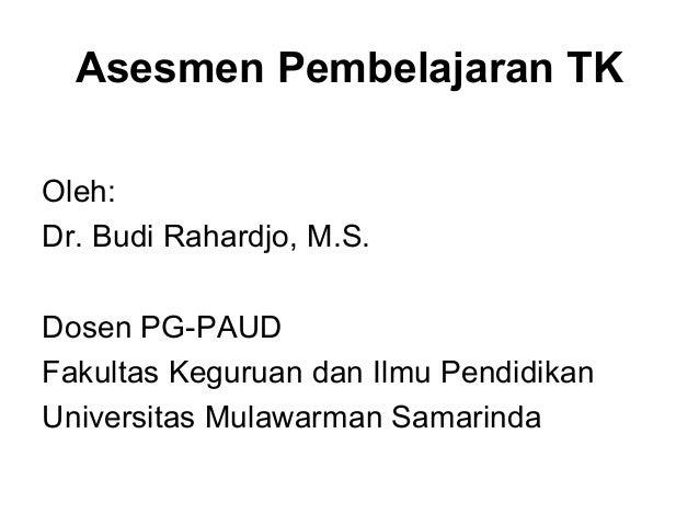 Assessment Paud