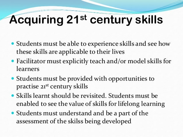 module3 assignment 21st century student Read this essay on students in the 21st century come browse our large digital warehouse of free sample essays get the knowledge you need in order to pass your classes and more.