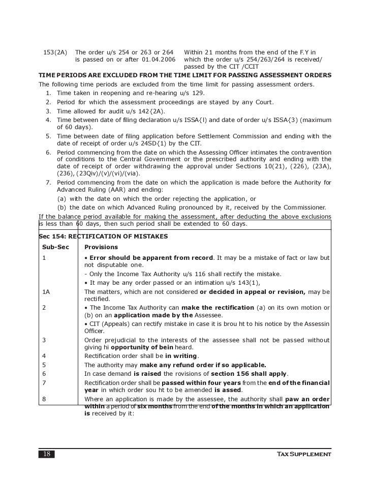 Assessment procedure indian income tax tax supplement 17 18 spiritdancerdesigns Images