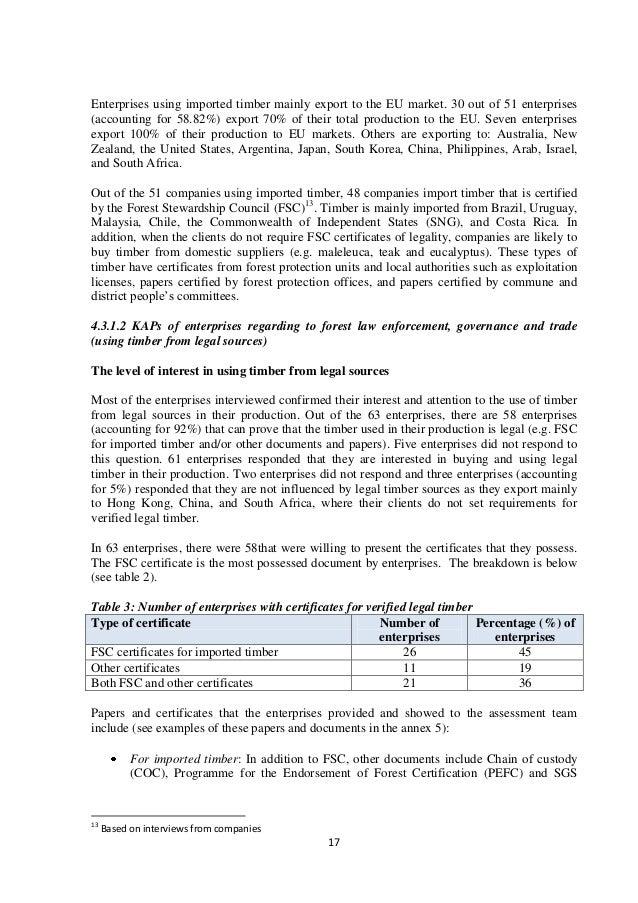 Flegt Vpa Assessment Report Final Final August 2014