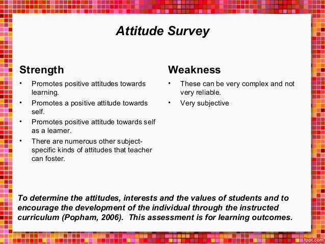 assessing students attitudes towards web based learning The aim of this study is to assess the resistance level, which is taken as a dimension of attitude, of distance education students  education students towards web based learning and to present .