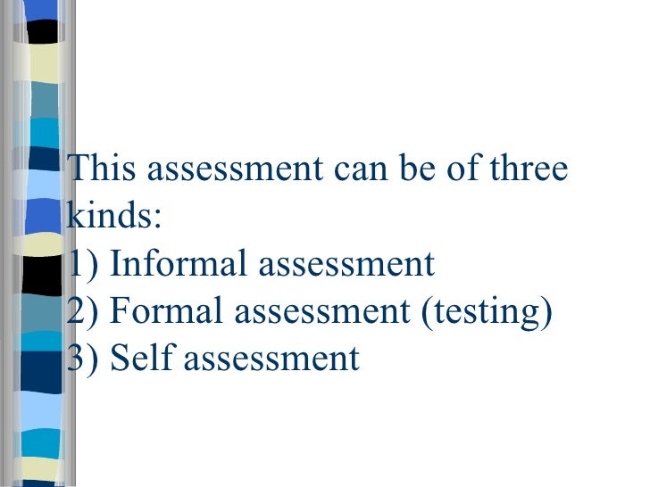 Assessment Testing In The Classroom