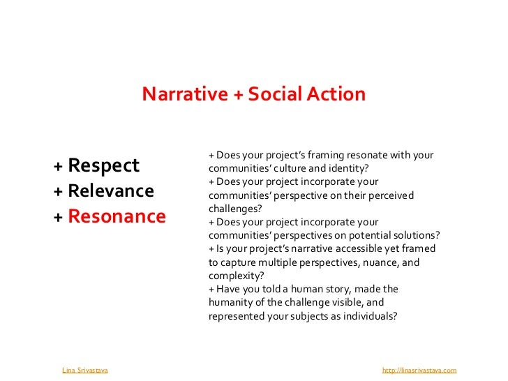 The 3 Rs: Co-Designing Narrative and Social Action