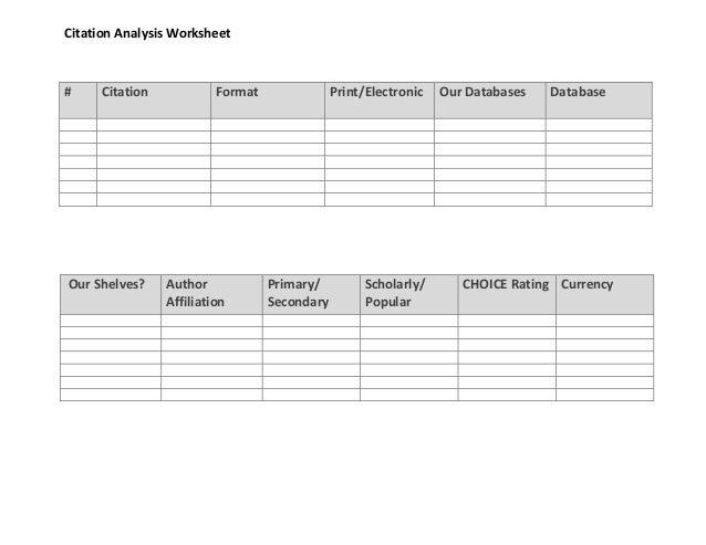 citation worksheet worksheets for school mindgearlabs. Black Bedroom Furniture Sets. Home Design Ideas