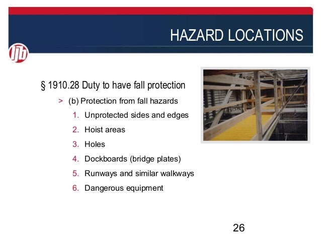 The Value Of Fall Hazard Risk Assessments