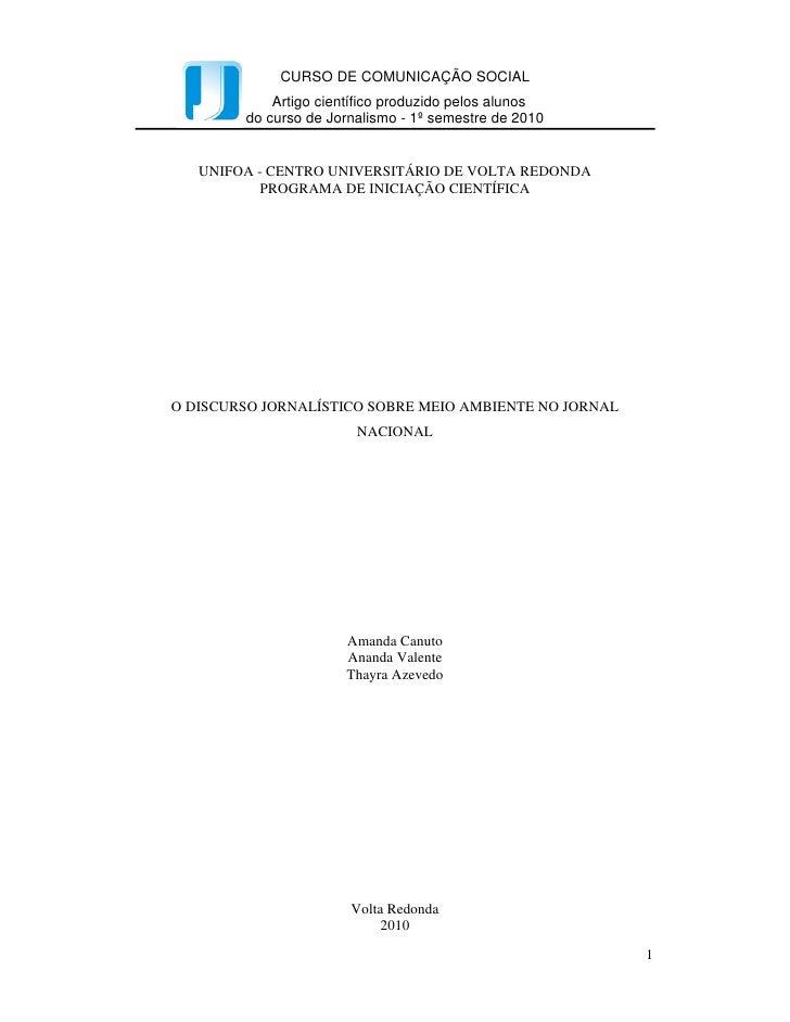 Intercom – Sociedade Brasileira de Estudos Interdisciplinares da Comunicação            XXXIII Congresso Brasileiro de Ciê...