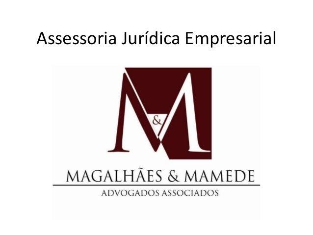 Assessoria Jurídica Empresarial
