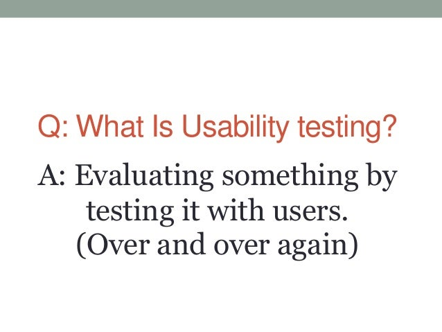 Free and Cheap Usability Testing Tools Slide 2