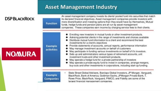 asset management company functions Asset Management Company