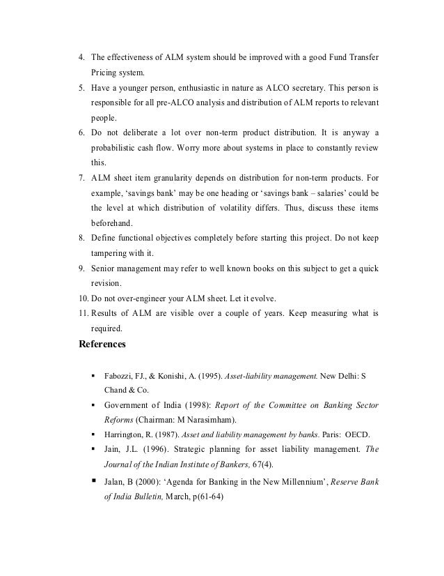 Attractive Asset Liability Management Resume Image Collection ...