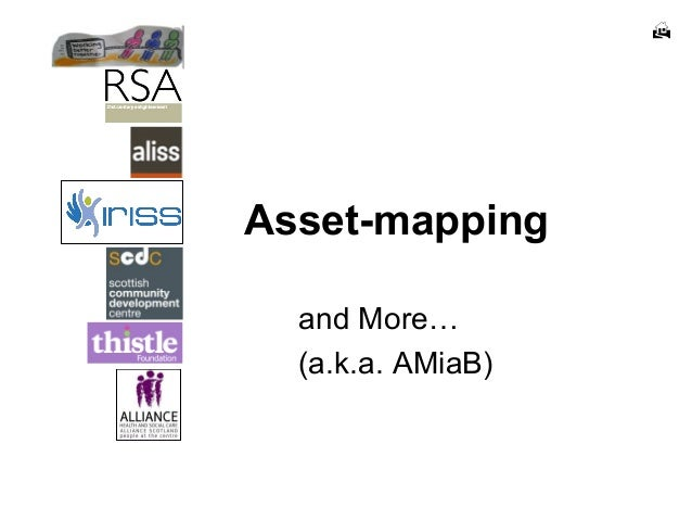  Asset-mapping and More… (a.k.a. AMiaB)