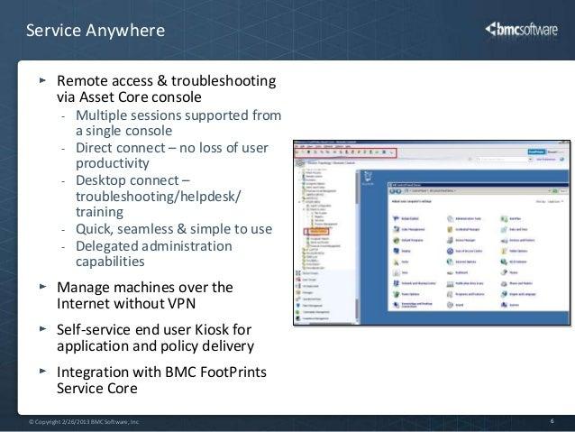 BMC FootPrints Asset Core Overview - Footprints help desk software