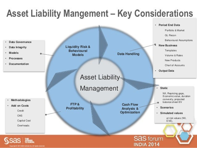 liabelity management Asset liability management over the past few decades, financial institutions and pension funds with inadequate or no asset liability management (alm) discipline have been ruthlessly punished by the financial markets, suffered severe losses and experienced several failures as a result of their.