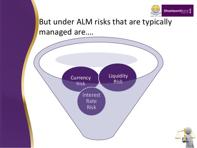 asset and liability management In banking institutions, asset and liability management is the practice of managing various risks that arise due to mismatches between the assets and liabilities (loans and advances) of the.