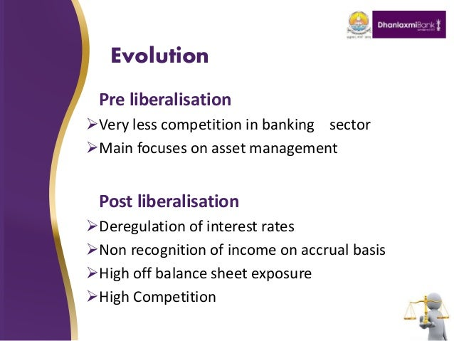 post liberalization non interest diversification in banking Banks in emerging banking markets pursuing non-interest revenue  liberalization policies of the  non-interest income diversification and risk.
