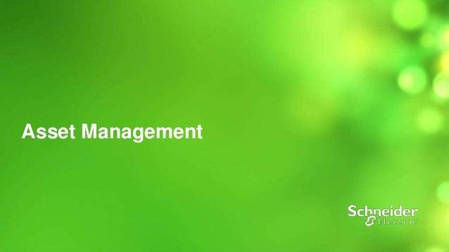 1  Asset Management