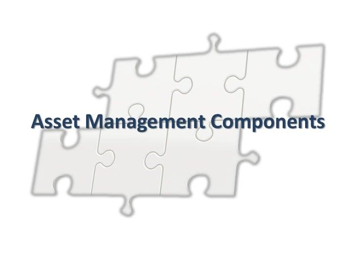 Asset Management Components