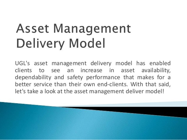 UGL's asset management delivery model has enabled clients to see an increase in asset availability, dependability and safe...